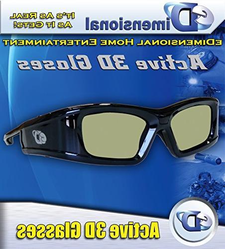 SAMSUNG Compatible 3D Glasses Bluetooth TV's