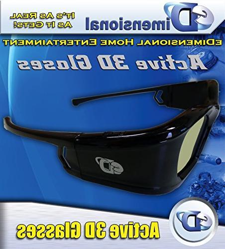 SAMSUNG Compatible 3D Glasses Bluetooth