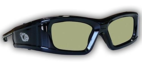 SAMSUNG Compatible eDimensional RECHARGEABLE 3D Glasses for