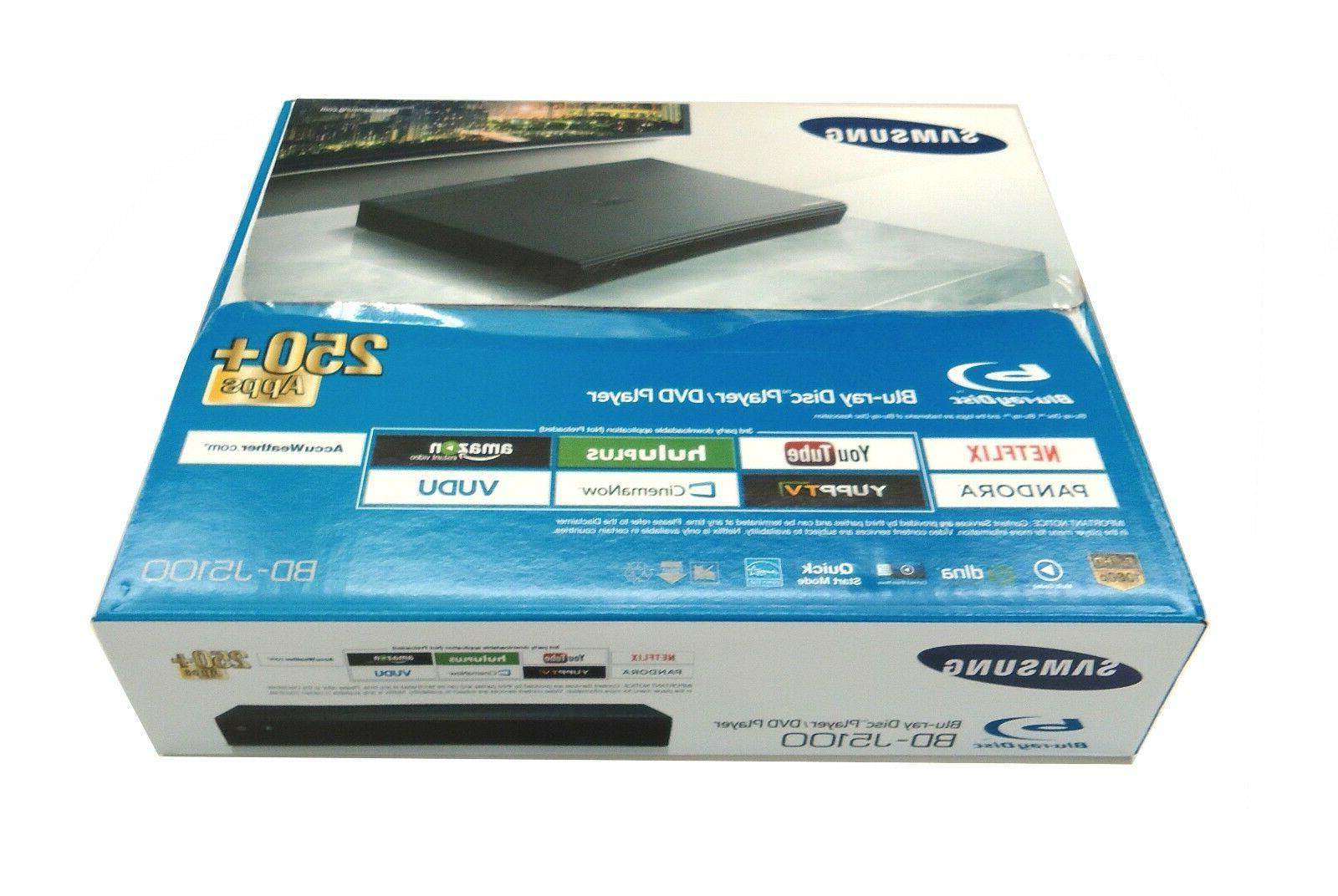 Samsung Curved Smart DVD Blu Ray Player w/ Built-In LAN & Op
