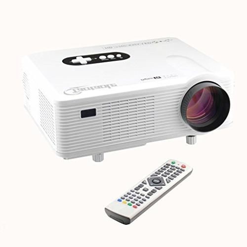 Taotaole HD Home Theater 720P Support 1080P LCD PROJECTOR LE
