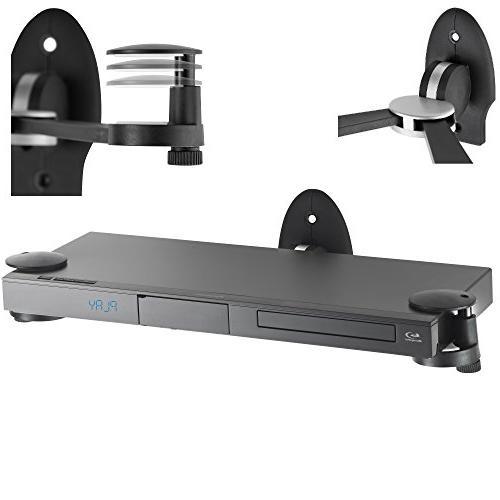VonHaus Floating Adjustable Shelf Wall Mount Bracket for DVD