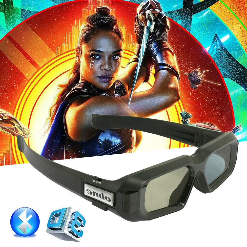 active shutter 3d bluetooth glasses for samsung