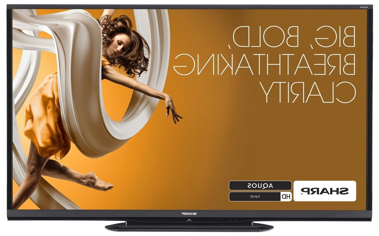 "Sharp AQUOS LC-90LE657U 90"" Full 3D 1080p HD Netflix Smart T"