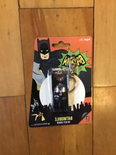 "BATMOBILE DC Batman 1966 Classic TV Series 3"" inch 3D Key Ch"