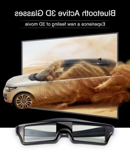 Active Shutter 3D Glasses Bluetooth for Epson Sony Samsung P