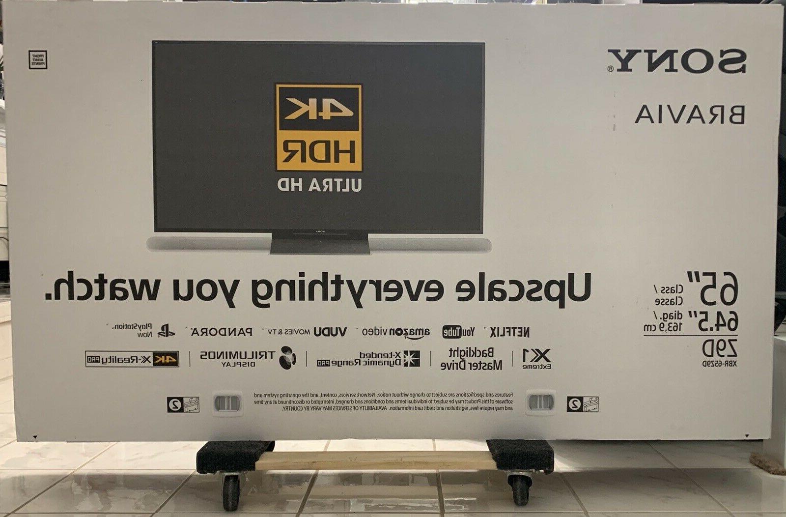 "Sony 65"" 4K HD SMART Full NIB"