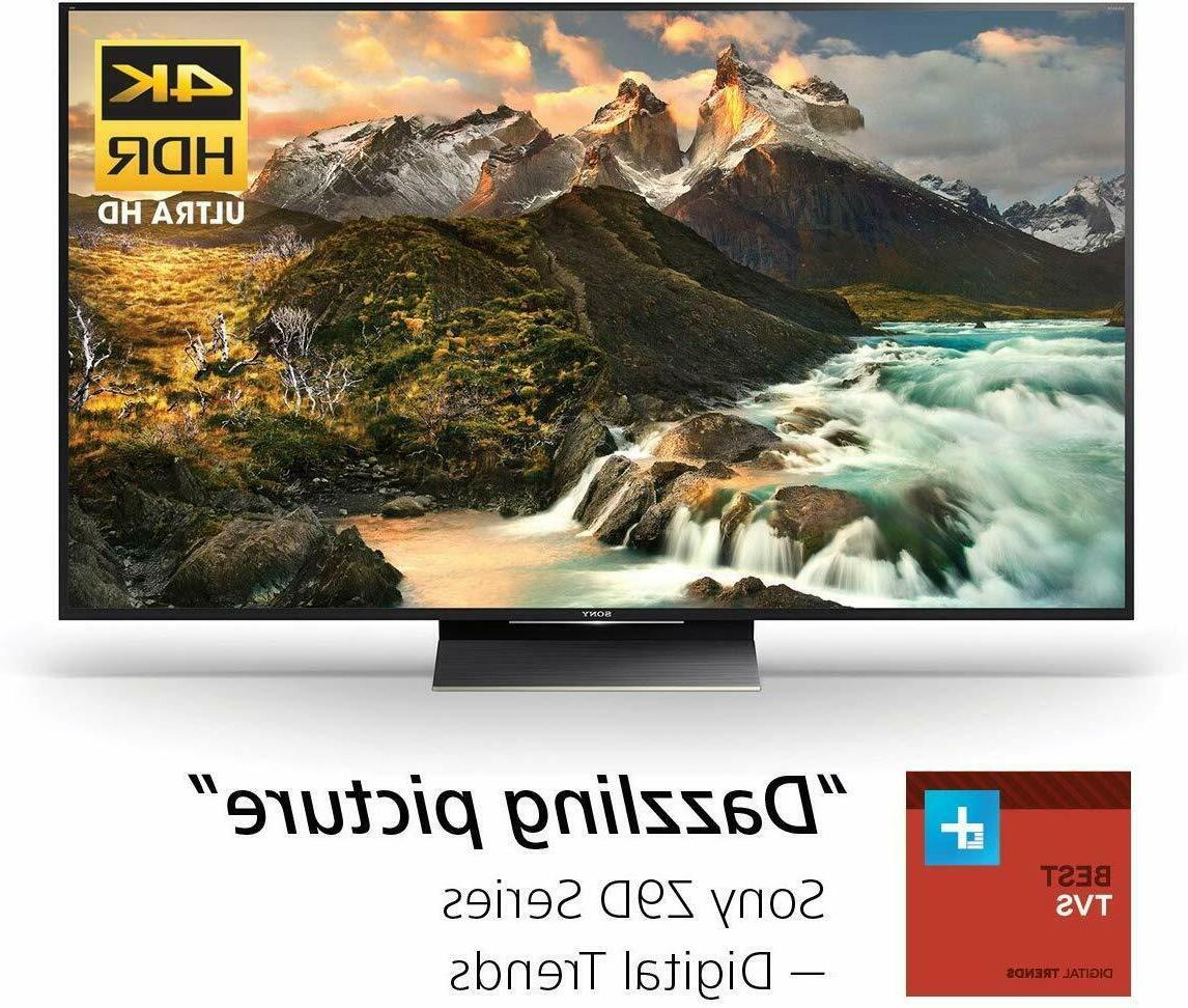 Sony 4K ULTRA HD SMART XBR-Z9D Full 3D 2017 NIB