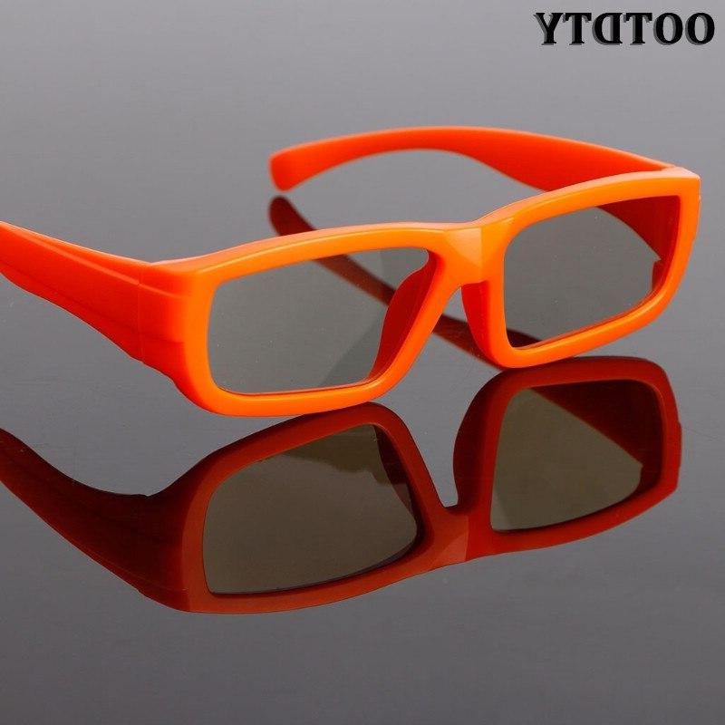 OOTDTY Children Polarized <font><b>Passive</b></font> <font><b>3D</b></font> Glasses For Real <font><b>3D</b></font> <font><b>TV</b></font> Cinema Movie