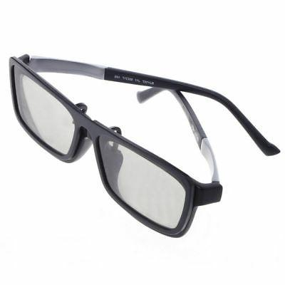 Clip-On Circular Passive Polarized TV Real Cinema 0.22mm