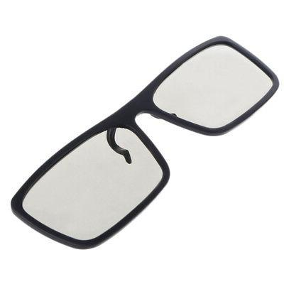 Clip-On Glasses Circular Polarized For TV 0.22mm