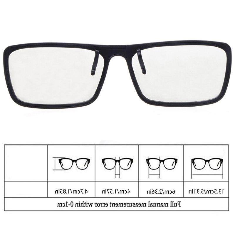 Clip-On Type Polarized <font><b>3D</b></font> Glasses <font><b>TV</b></font> Real <font><b>3D</b></font> 0.22mm