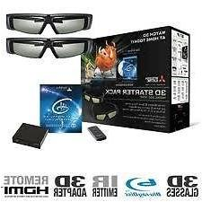 MITSUBISHI DLP TV 3DC-1000 kit with Glasses and Superpower 8