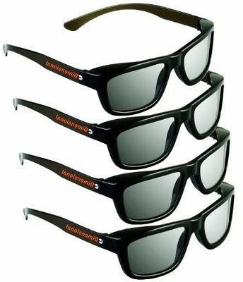 ED 4 3D GLASSES For 3D Sized