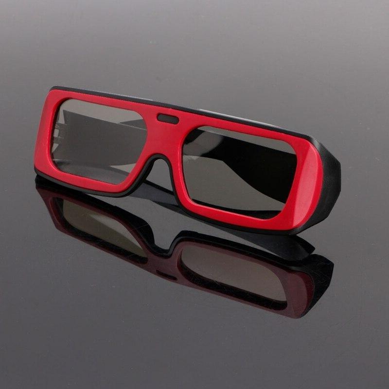 OOTDTY <font><b>3D</b></font> Glasses Dual Color <font><b>Passive</b></font> <font><b>3D</b></font> Stereo For D <font><b>TV</b></font>