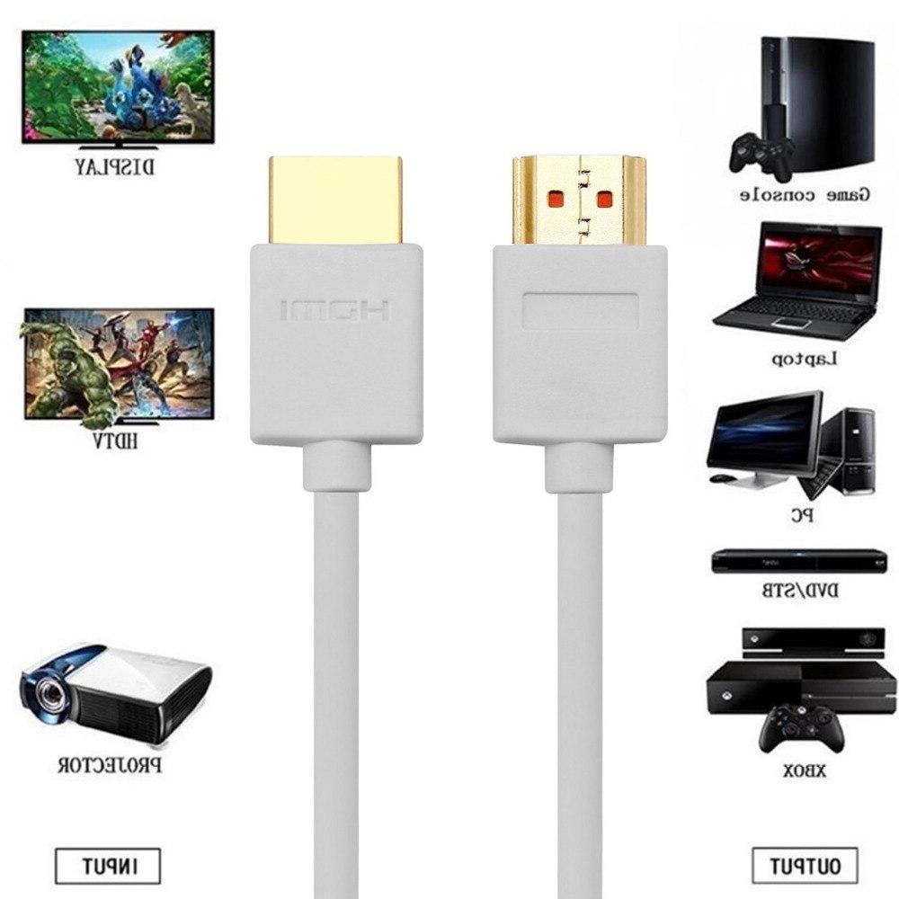 <font><b>HDMI</b></font> Cable Male Male <font><b>3D</b></font> 4K LCD <font><b>TV</b></font> PS3 Computer Cable 2M 3M