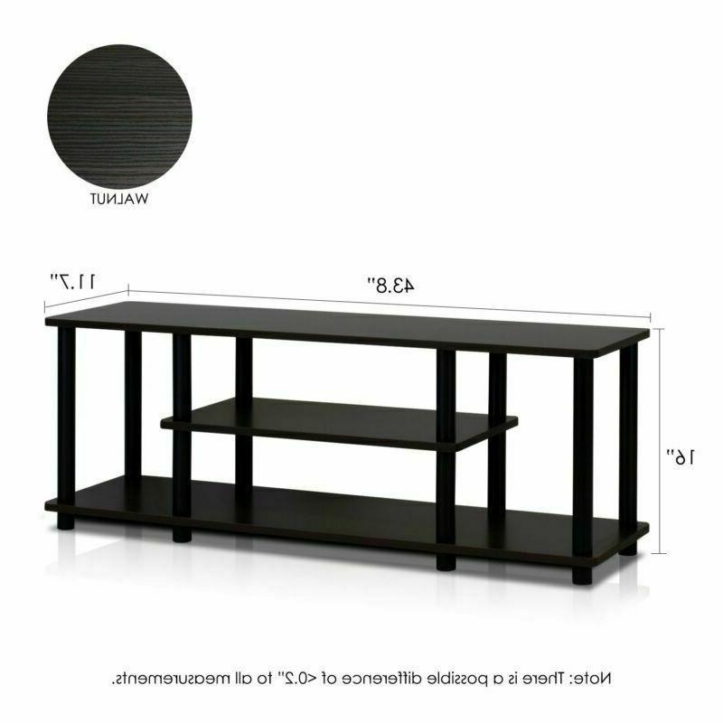 Furinno 12250R1Wn/Bk Turn-N-Tube Tools 3D Tv Wal
