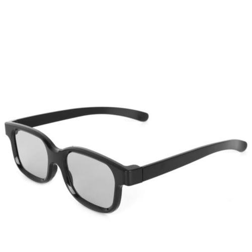 High Quality 3D Black For TV Real D 3D