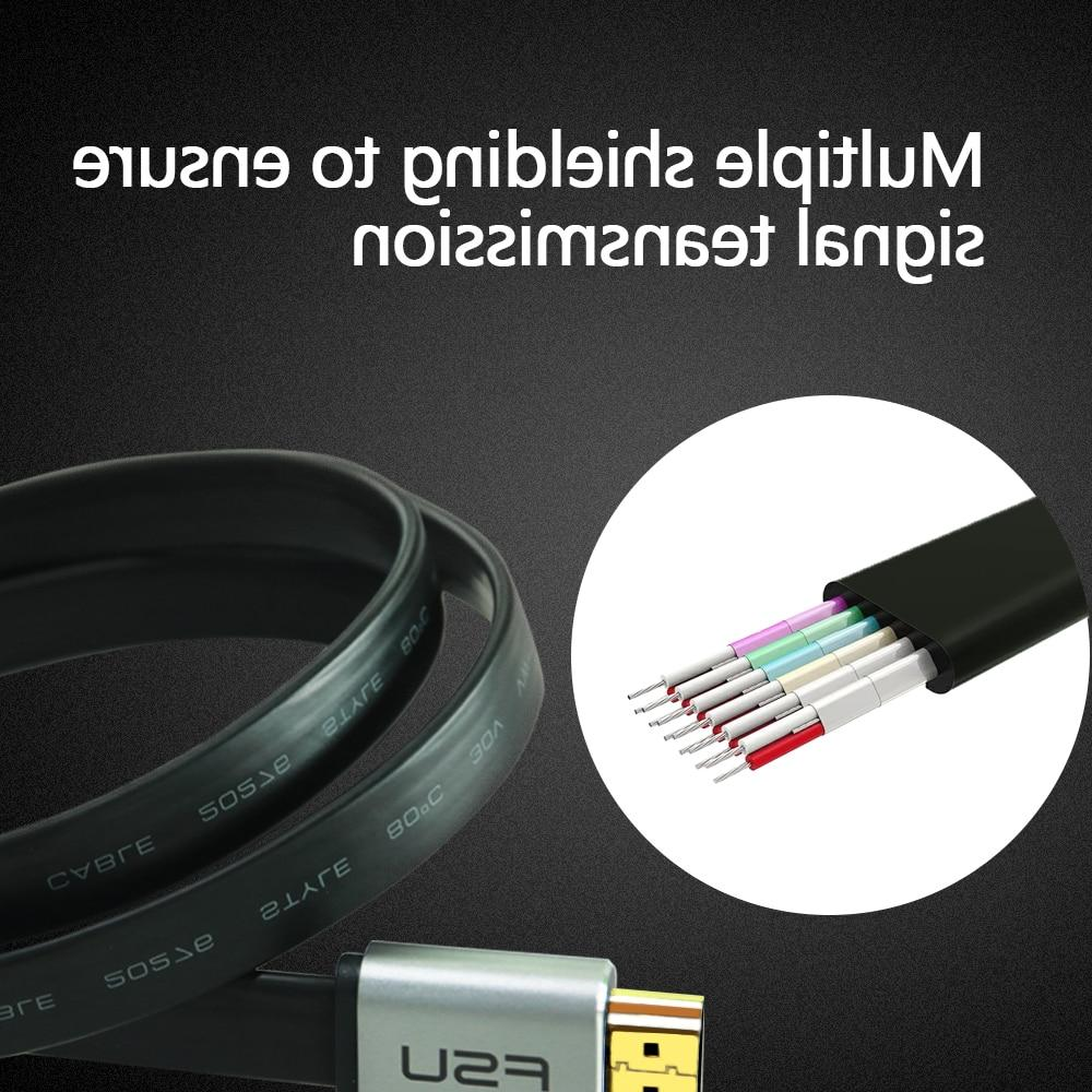 High Speed V2.0 <font><b>HDMI</b></font> <font><b>Cable</b></font> Male HD for PS3/4 Projector 1m 1.5m 2m
