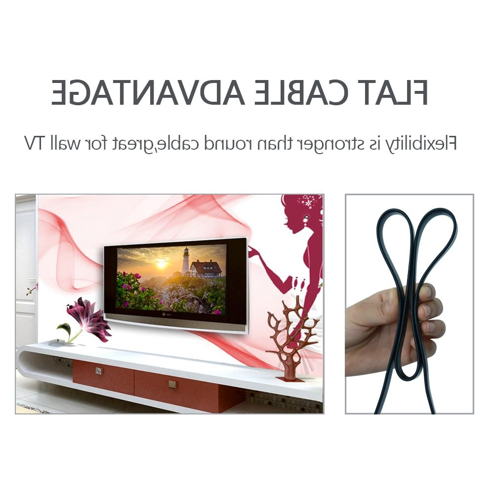 High <font><b>Cable</b></font> Male Male 1080P HD for Computer PS3/4 Projector HDTV 1m