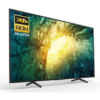 Sony 4K Ultra LED Smart TV