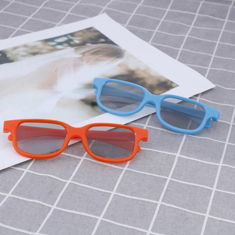 Kids circular polarized 3D glasses real 3D tv cinema