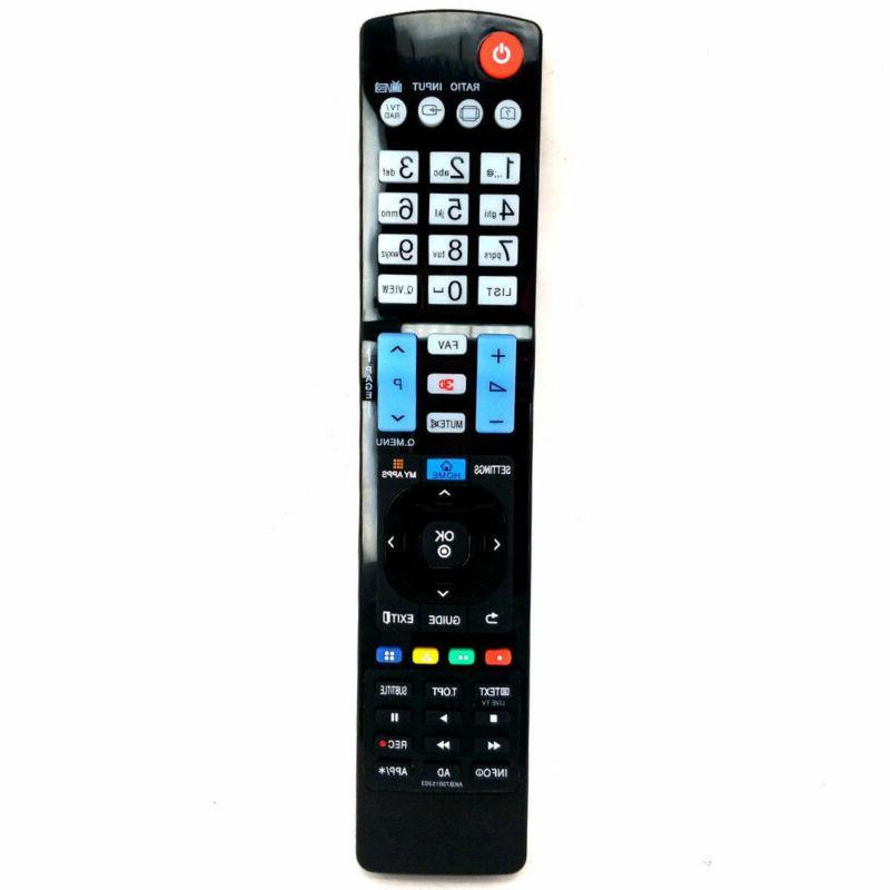 For TV LCD HDTV Universal Remote Black