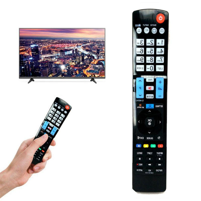 For LG 3D TV LCD Universal Replacement Remote Black