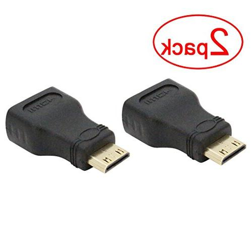mini hdmi adapter plated