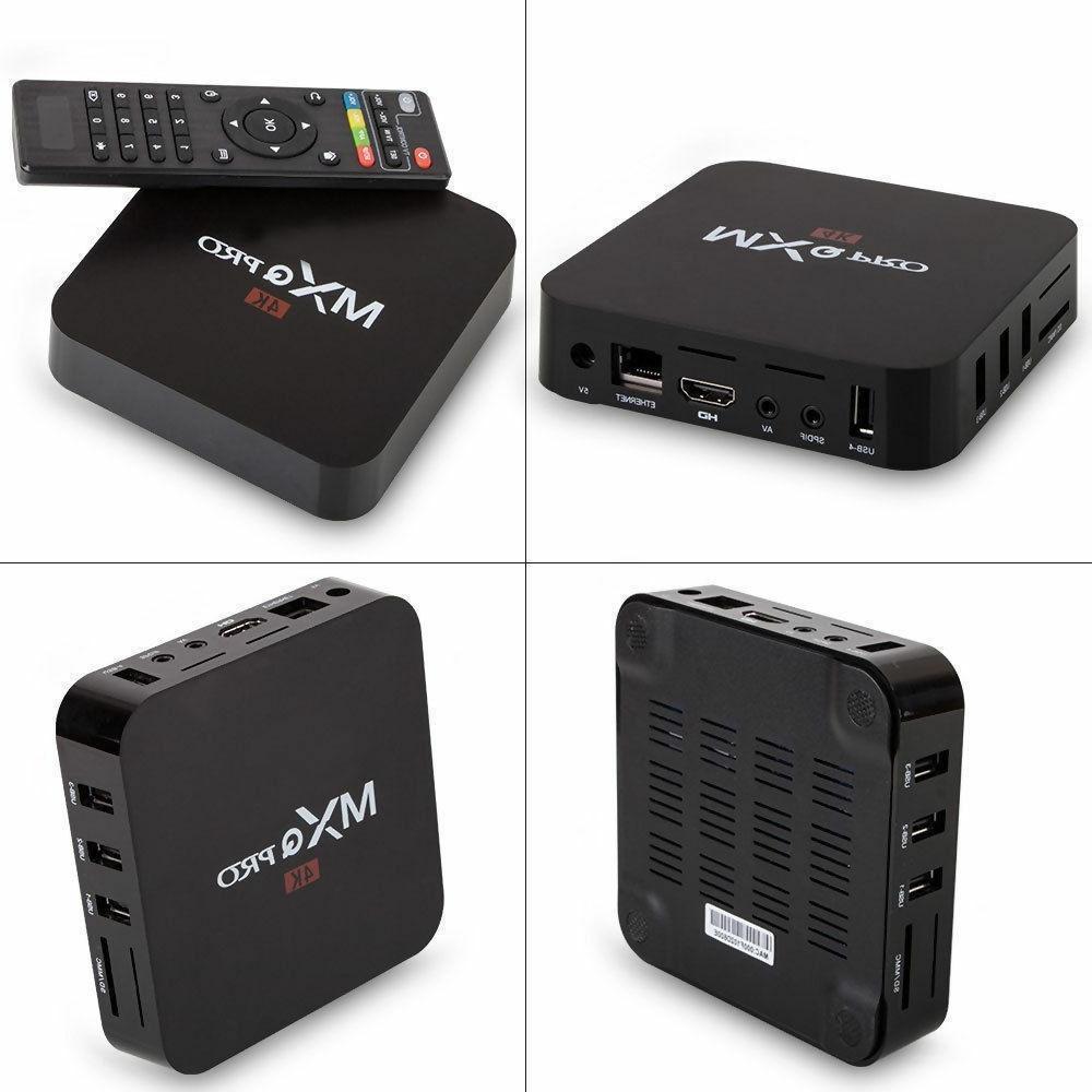Android 7.1 Smart Box S905W Quad Core HDMI WIFI