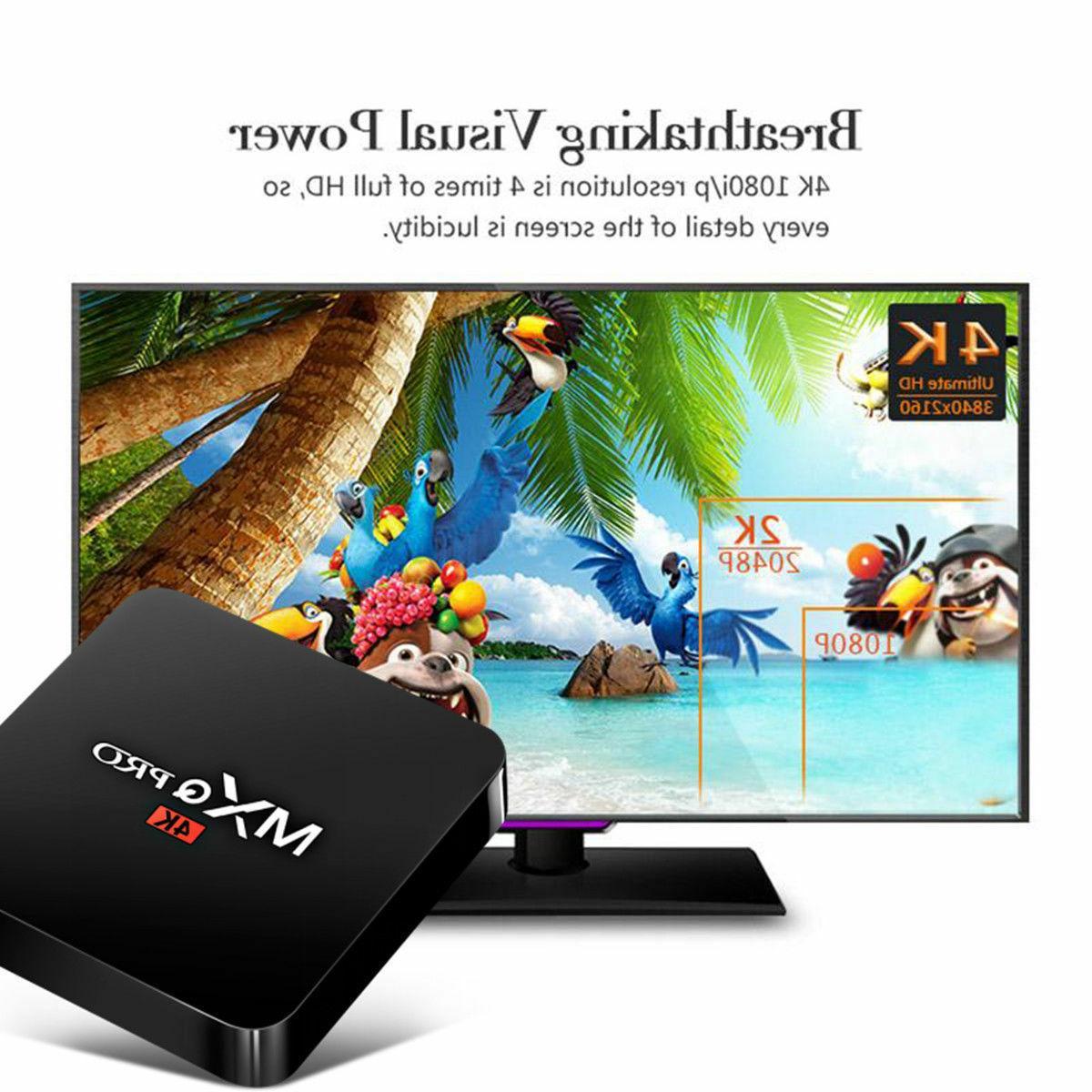 MXQ 3D Android Box S905W Quad HDMI Media Streamer