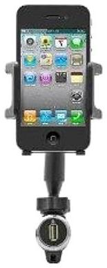 National Cellular Universal Vehicle Mount and Charger for Al