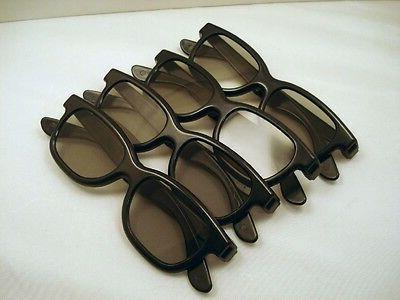 new four pairs 3d glasses for vizio