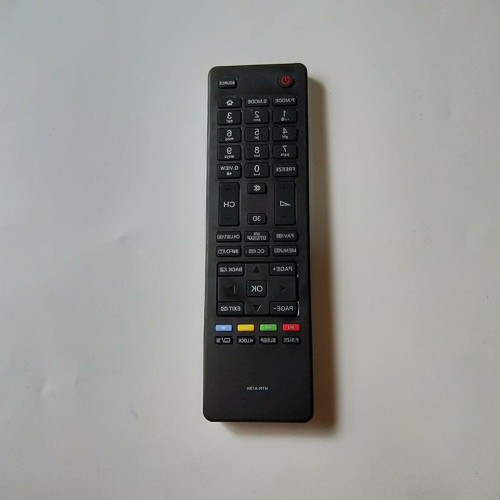 NEW Original Genuine Haier 3D HDTV TV Remote Control HTR-A18