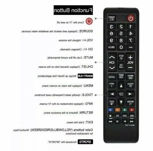 New Universal for LED HDTV 3D TVs
