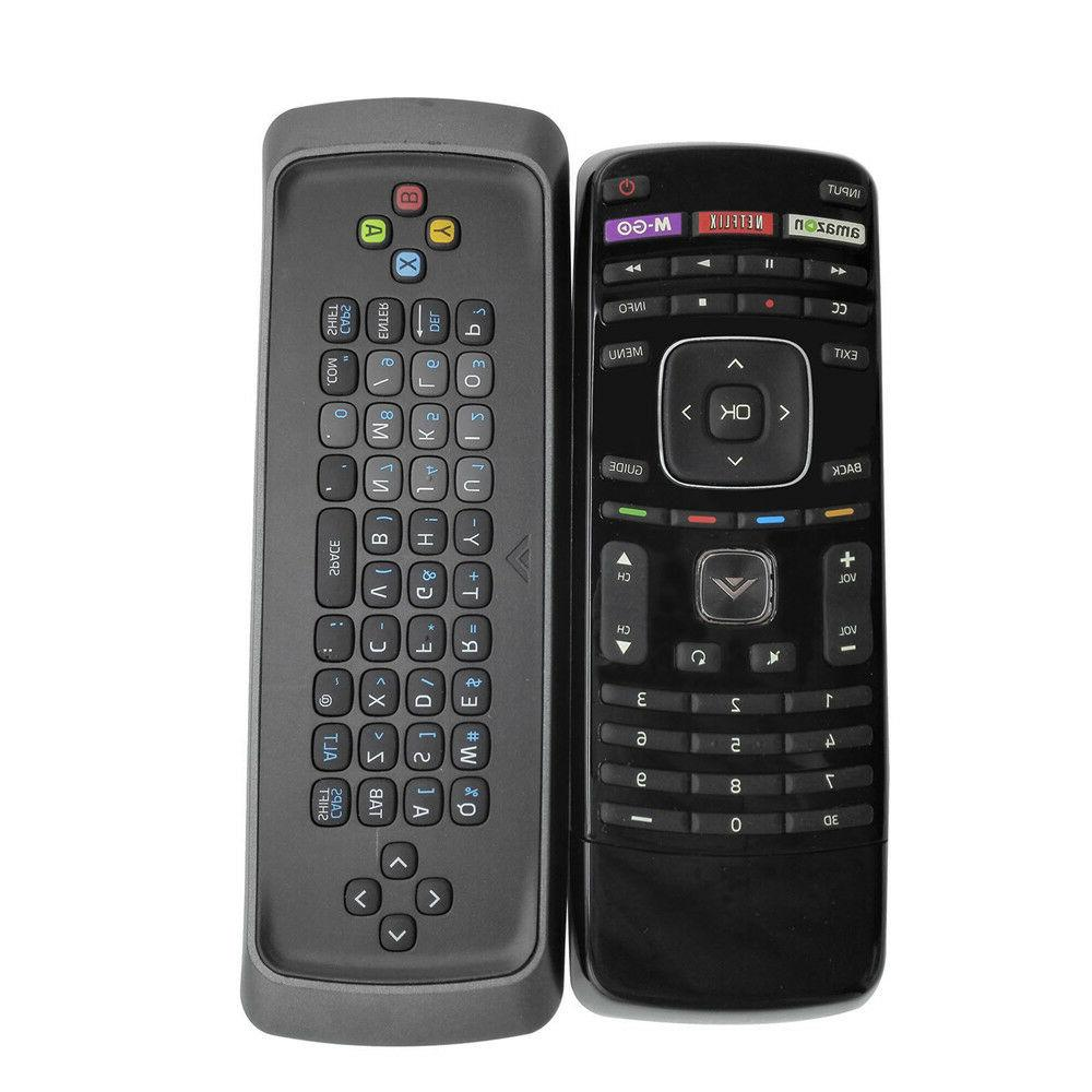 New XRT303 3D TV Remote W/ QWERTY Keyboard for Vizio E3D320V