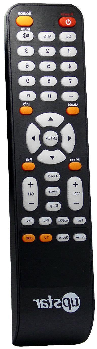 Original New UPSTAR Remote For UPSTAR P55EWX P55E4K P32EWX6