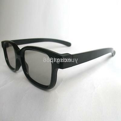 passive 3d glasses black for reald cinema