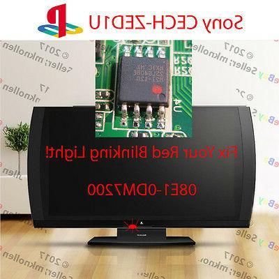 playstation 3d tv blinking red light fix