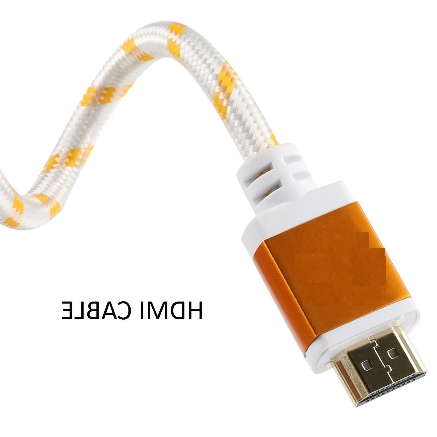 PREMIUM CABLE For HDTV LCD TV 1080P White US