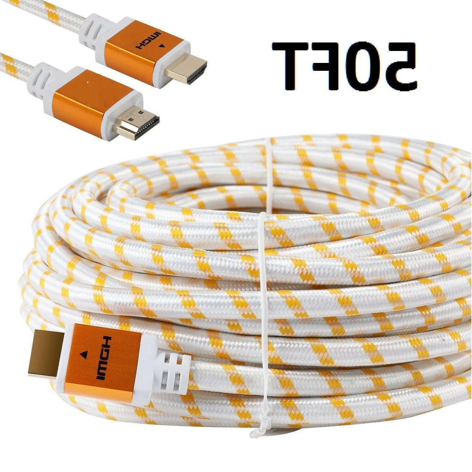 premium hdmi cable 50ft for 3d dvd