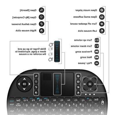 Pro 64-bit Android / 1GB+8GB HD TV Kodi Box Keyboard