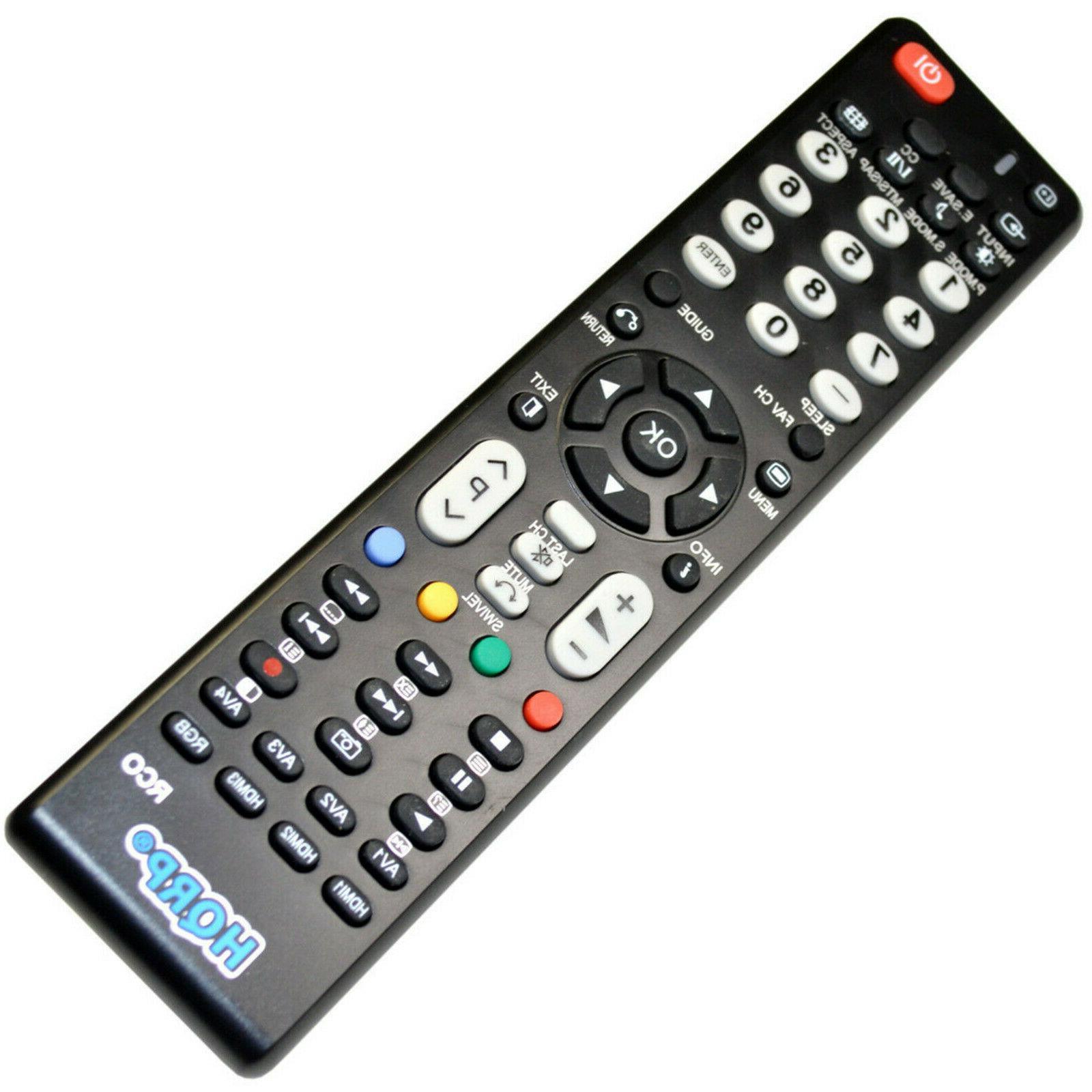 HQRP Remote for Hitachi Series LED HD TV Smart 3D Ultra Plasma