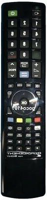 REPLACEMENT SONY BRAVIA TV NETFLIX 3D SEN UNIVERSAL REMOTE C