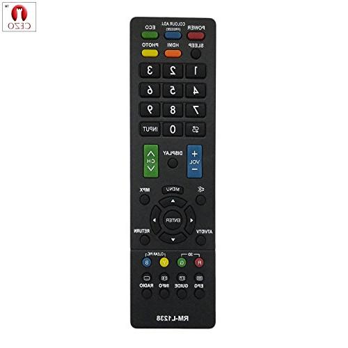 sharp universal remote crt