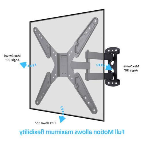 """Slim Cantilever Swivel Tilt TV Mount 26-55"""" For 3D Plasma"""