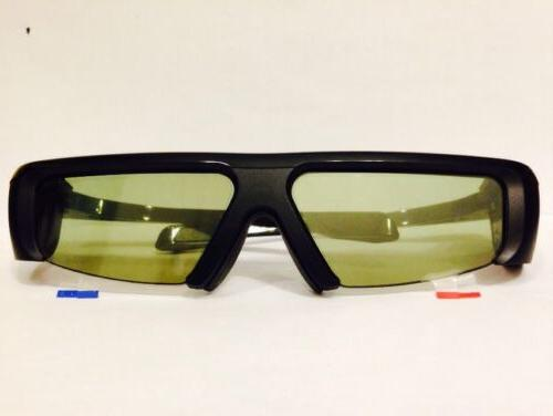Samsung SSG-2100AB, 3D GLASSES with Pouch,Battery,NEW No
