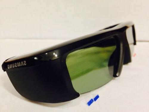 Samsung SSG-2100AB, 3D TV GLASSES with Pouch,Battery,NEW No