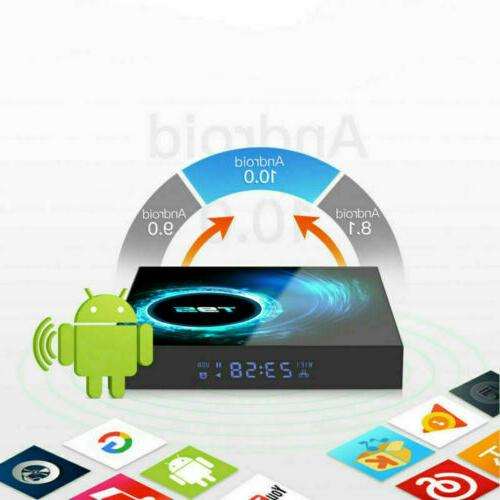 T95 4K Android 10 CORE 4GB+128GB BOX 2.4/5G Home