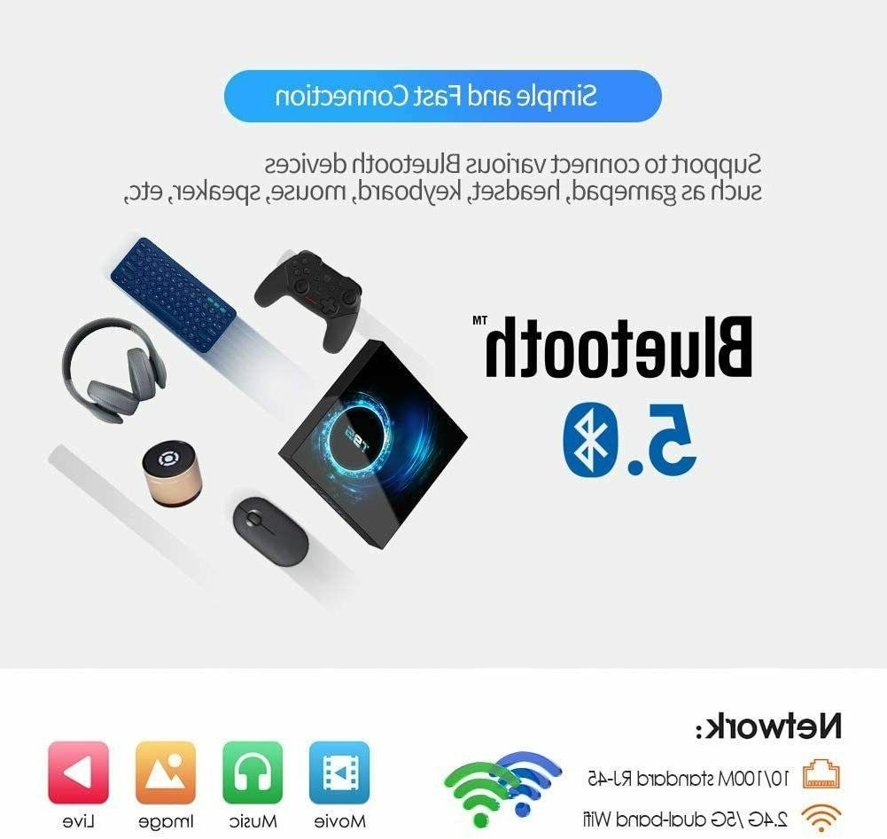 T95 CORE 4GB+32GB 2.4/5G WIFI Home Streamer